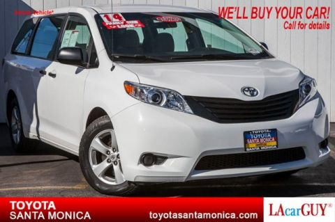 Certified Pre-Owned 2014 Toyota Sienna 5dr 7-Pass Van V6 L FWD (Natl) FWD Mini-van, Passenger