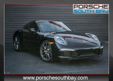 Certified Pre-Owned 2015 Porsche 911 Carrera RWD 2D Coupe