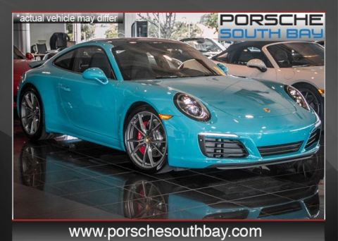 New 2017 Porsche 911  Rear Wheel Drive 2D Coupe