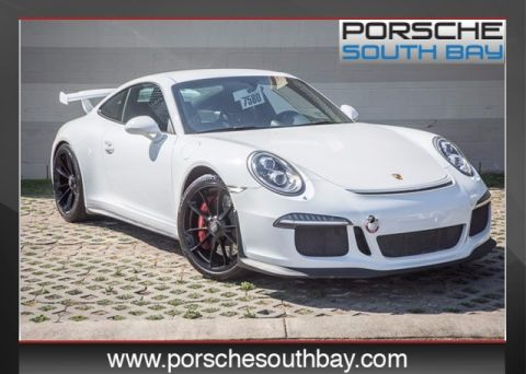 Pre-Owned 2015 Porsche 911 GT3 RWD 2D Coupe