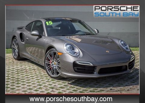 Certified Pre-Owned 2015 Porsche 911 Turbo AWD