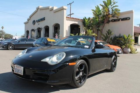Pre-Owned 2004 Porsche 911 2dr Cabriolet Carrera Tiptronic RWD Convertible