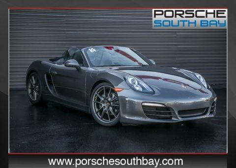 Certified Pre-Owned 2014 Porsche Boxster Base RWD 2D Convertible