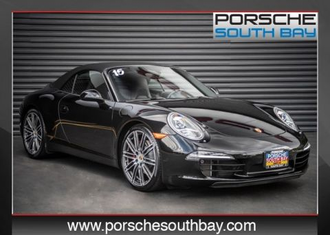 Certified Pre-Owned 2015 Porsche 911 Carrera S Rear Wheel Drive 2D Cabriolet