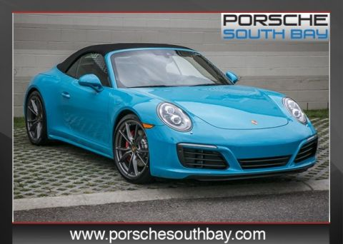 New 2017 Porsche 911  Rear Wheel Drive 2D Cabriolet