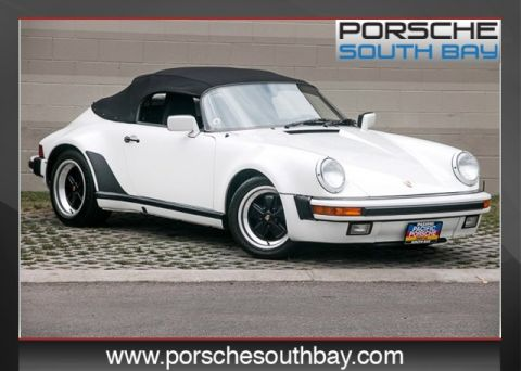 Pre-Owned 1989 Porsche 911  RWD Convertible